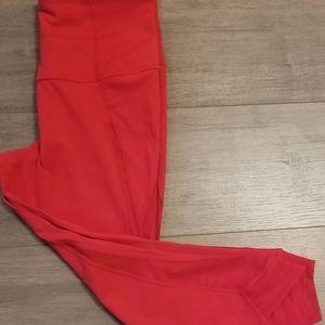 Zella High Waist V-Back Crop Leggings